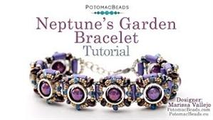 How to Bead / Videos Sorted by Beads / Tubelet Bead Videos / Neptune's Garden Bracelet Tutorial