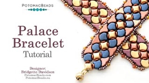How to Bead Jewelry / Videos Sorted by Beads / Ginko Bead Videos / Palace Bracelet Tutorial