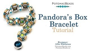 How to Bead Jewelry / Videos Sorted by Beads / Potomac Crystal Videos / Pandora's Box Bracelet Tutorial