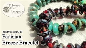 How to Bead Jewelry / Videos Sorted by Beads / All Other Bead Videos / Parisian Breeze Bracelet Tutorial