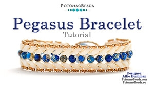 How to Bead Jewelry / Videos Sorted by Beads / Potomac Crystal Videos / Pegasus Bracelet Tutorial