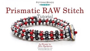 How to Bead Jewelry / Videos Sorted by Beads / Seed Bead Only Videos / Prismatic Right Angle Weave Stitch