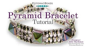 How to Bead Jewelry / Videos Sorted by Beads / SuperDuo & MiniDuo Videos / Pyramid Bracelet Tutorial