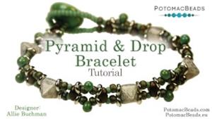 How to Bead Jewelry / Beading Tutorials & Jewel Making Videos / Bracelet Projects / Pyramid & Drop Bracelet Tutorial