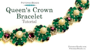 How to Bead / Videos Sorted by Beads / All Other Bead Videos / Queen's Crown Bracelet Tutorial