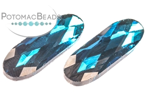 Other Beads & Supplies / Crystals / Long Ovals