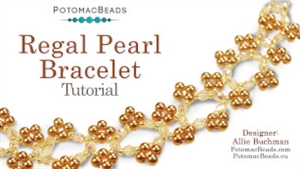 How to Bead / Videos Sorted by Beads / All Other Bead Videos / Regal Pearl Bracelet Tutorial