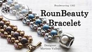 How to Bead / Videos Sorted by Beads / RounDuo® & RounDuo® Mini Bead Videos / RounBeauty Bracelet Tutorial