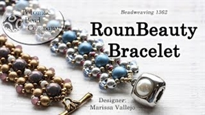 How to Bead Jewelry / Videos Sorted by Beads / RounDuo® & RounDuo® Mini Bead Videos / RounBeauty Bracelet Tutorial