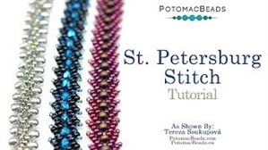 How to Bead Jewelry / Videos Sorted by Beads / All Other Bead Videos / Saint Petersburg Stitch Tutorial