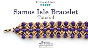 How to Bead Jewelry / Videos Sorted by Beads / Par Puca® Bead Videos / Samos Isle Bracelet Tutorial