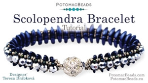 How to Bead Jewelry / Videos Sorted by Beads / Potomac Crystal Videos / Scolopendra Bracelet Tutorial