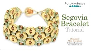 How to Bead Jewelry / Videos Sorted by Beads / Par Puca® Bead Videos / Segovia Bracelet Tutorial