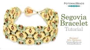 How to Bead Jewelry / Videos Sorted by Beads / CzechMates Bead Videos / Segovia Bracelet Tutorial