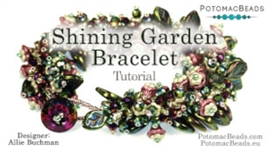 How to Bead Jewelry / Videos Sorted by Beads / Potomac Crystal Videos / Shining Garden Bracelet Tutorial