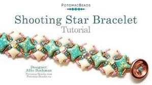 How to Bead / Videos Sorted by Beads / WibeDuo Bead Videos / Shooting Star Bracelet Tutorial