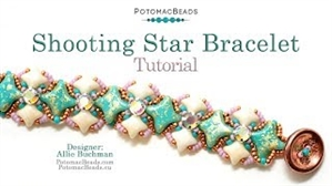 How to Bead Jewelry / Videos Sorted by Beads / WibeDuo Bead Videos / Shooting Star Bracelet Tutorial