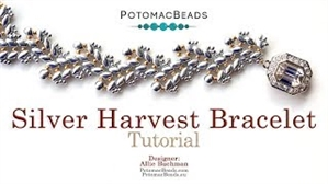 How to Bead Jewelry / Videos Sorted by Beads / SuperDuo & MiniDuo Videos / Silver Harvest Bracelet Tutorial