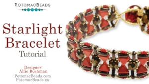 How to Bead / Videos Sorted by Beads / CzechMates Bead Videos / Starlight Bracelet Tutorial