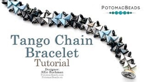How to Bead / Videos Sorted by Beads / All Other Bead Videos / Tango Chain Bracelet Tutorial