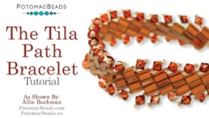 How to Bead Jewelry / Videos Sorted by Beads / All Other Bead Videos / The Tila Path Bracelet Tutorial
