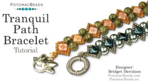How to Bead Jewelry / Videos Sorted by Beads / Silky and Mini Silky Bead Videos / Tranquil Path Bracelet Tutorial