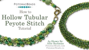 How to Bead / Videos Sorted by Beads / Seed Bead Only Videos / Tubular Peyote Stitch Tutorial