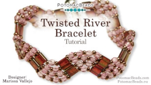How to Bead / Videos Sorted by Beads / All Other Bead Videos / Twisted River Bracelet Tutorial