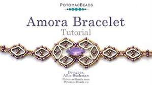 How to Bead / Free Video Tutorials / Bracelet Projects / Amora Bracelet Tutorial