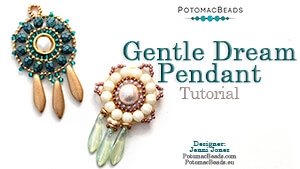 How to Bead / Free Video Tutorials / Pendant Projects / Gentle Dream Pendant Tutorial