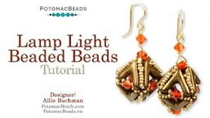 How to Bead Jewelry / Videos Sorted by Beads / All Other Bead Videos / Lamp Light Beaded Beads Tutorial