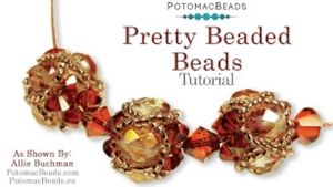 How to Bead Jewelry / Videos Sorted by Beads / All Other Bead Videos / Pretty Beaded Beads Tutorial