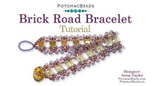How to Bead / Videos Sorted by Beads / O Bead Videos / Brick Road Bracelet Tutorial