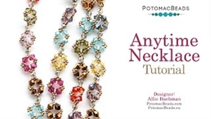 How to Bead Jewelry / Videos Sorted by Beads / Potomac Crystal Videos / Anytime Necklace Tutorial