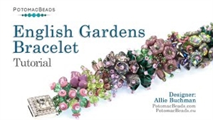 How to Bead / Videos Sorted by Beads / O Bead Videos / English Gardens Bracelet Tutorial