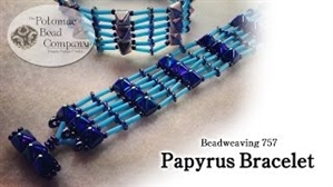 How to Bead / Videos Sorted by Beads / O Bead Videos / Papyrus 1 Bracelet Tutorial