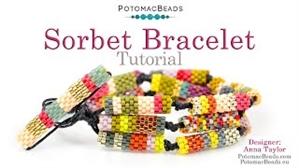 How to Bead / Free Video Tutorials / Bracelet Projects / Sorbet Bracelet Tutorial