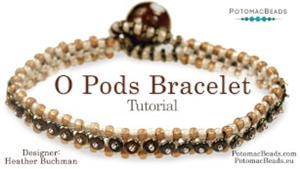 How to Bead / Free Video Tutorials / Bracelet Projects / O Pods Bracelet Tutorial