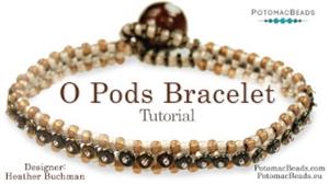 How to Bead Jewelry / Beading Tutorials & Jewel Making Videos / Bracelet Projects / O Pods Bracelet Tutorial