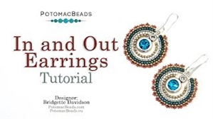 How to Bead / Videos Sorted by Beads / All Other Bead Videos / In and Out Earrings Tutorial