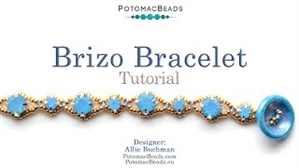 How to Bead / Free Video Tutorials / Bracelet Projects / Brizo Bracelet Tutorial