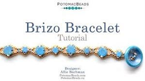 How to Bead Jewelry / Beading Tutorials & Jewel Making Videos / Bracelet Projects / Brizo Bracelet Tutorial