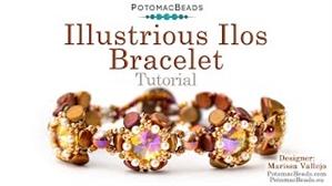 How to Bead / Free Video Tutorials / Bracelet Projects / Illustrious Ilos Bracelet Tutorial