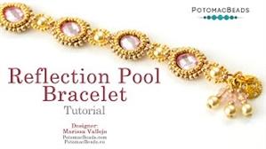How to Bead Jewelry / Beading Tutorials & Jewel Making Videos / Bracelet Projects / Reflection Pool Bracelet Tutorial