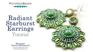How to Bead / Videos Sorted by Beads / All Other Bead Videos / Radiant Starburst Earrings Tutorial