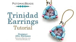 How to Bead Jewelry / Videos Sorted by Beads / Tubelet Bead Videos / Trinidad Earrings Tutorial