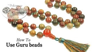 How to Bead Jewelry / Beading Tutorials & Jewel Making Videos / Stringing & Knotting Projects / How to use Guru Beads Tutorial