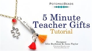 How to Bead Jewelry / Videos Sorted by Beads / Cabochon Videos / Five Minute Teacher's Gifts