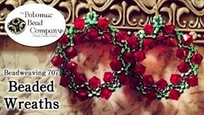 How to Bead Jewelry / Videos Sorted by Beads / All Other Bead Videos / Beaded Wreaths Tutorial