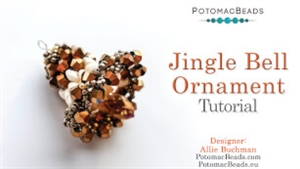 How to Bead Jewelry / Videos Sorted by Beads / Potomac Crystal Videos / Jingle Bell Ornament